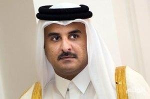 أمير قطر يجري محادثات مع البشير خلال زيارته للخرطوم