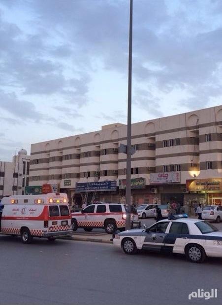 6 إصابات بحريق داخل عمارة سكنية في الرياض