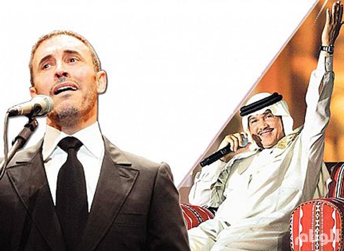 عبده والساهر يلتقيان في مهرجان موازين الغنائي المغربي