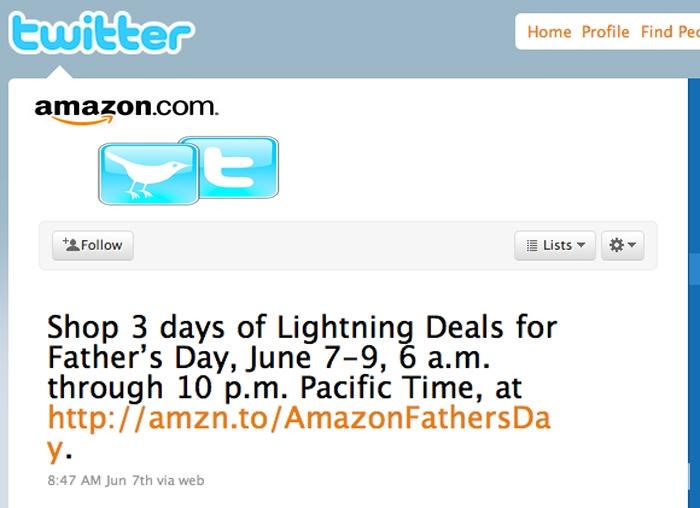 أمازون تتيح خدمة جديدة للشراء عبر تويتر