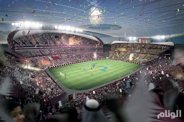 قطر تبدأ بناء أول استاد لنهائيات كأس العالم