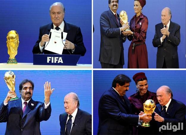 بلاتر : اختيار قطر لاستضافة مونديال 2022 «خطأ جسيم»