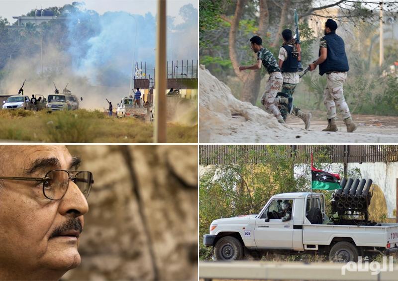 18 قتيلاً و30 مصاباً في اشتباكات بنغازي الليبية