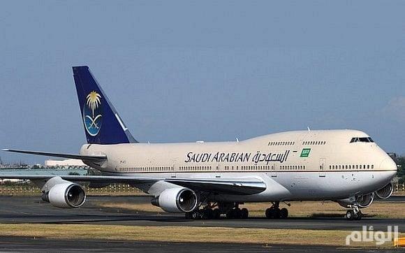 """""""الخطوط السعودية"""" ترسل 9 طائرات إضافية للإقلاع بالمعتمرين العالقين فى القاهرة"""