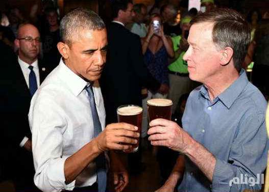 أوباما يرفض عرضا لتدخين الماريغوانا