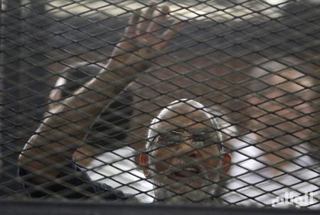 المؤبد لـ «مرشد الاخوان» في أحداث عنف بمصر