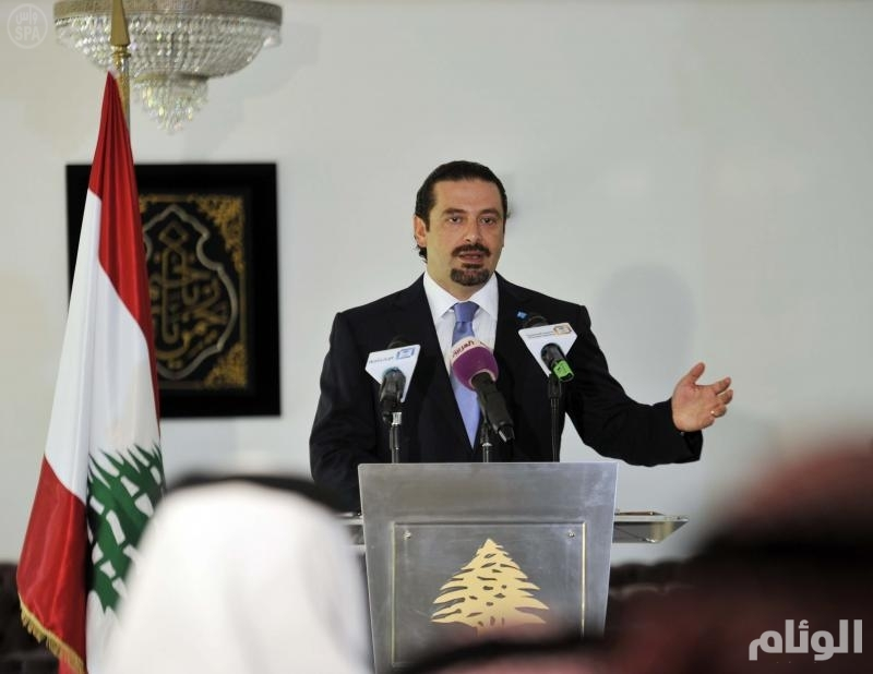 الحريري يرد على اتهام وزير الداخلية لقطر بدعم المظاهرات في لبنان