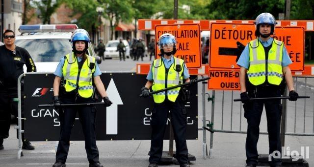 الشرطة الكندية تعتقل مشتبها به بعد معلومات عن تهديد بعمل إرهابي