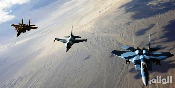 """تحليق كثيف لطائرات التحالف في """"صعدة"""" مع انتهاء مهلة مغادرة المدنيين"""