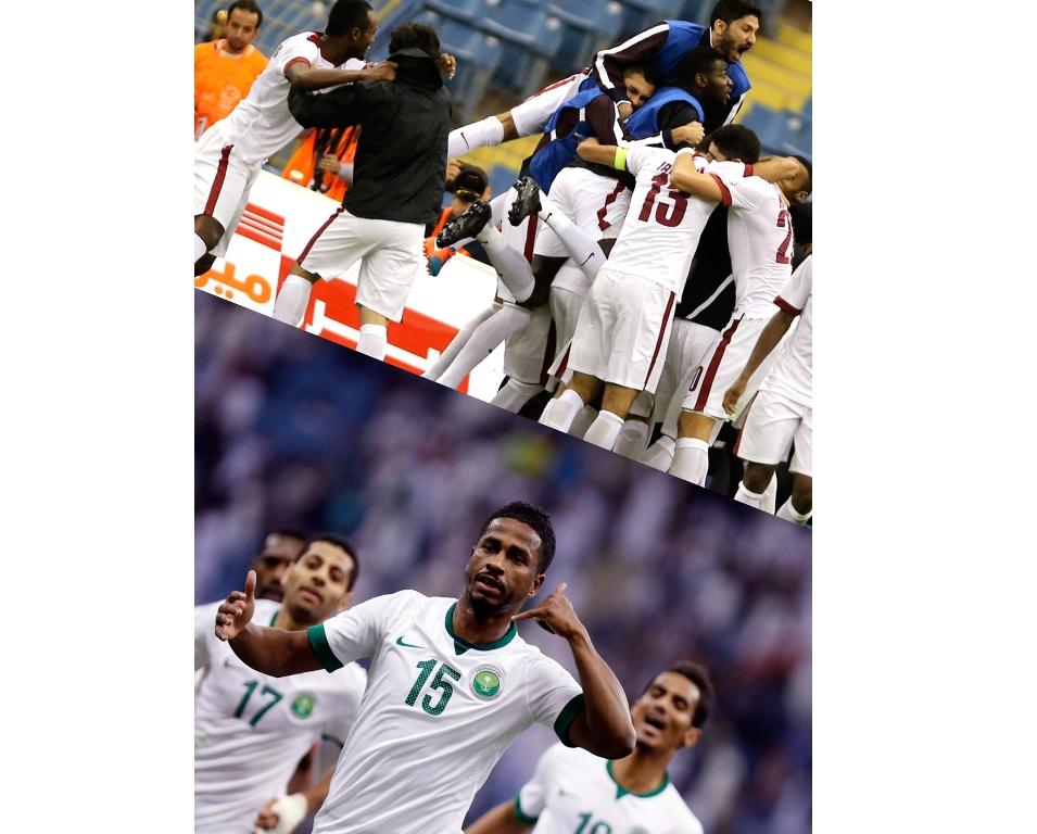اللقب الغائب منذ سنوات هدف السعودية وقطر في نهائي كأس الخليج
