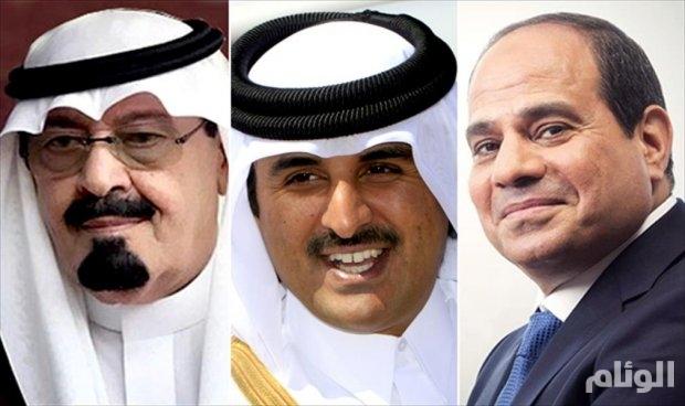 أحمد الجار الله : قمة بين السيسي وتميم بالرياض يناير المقبل