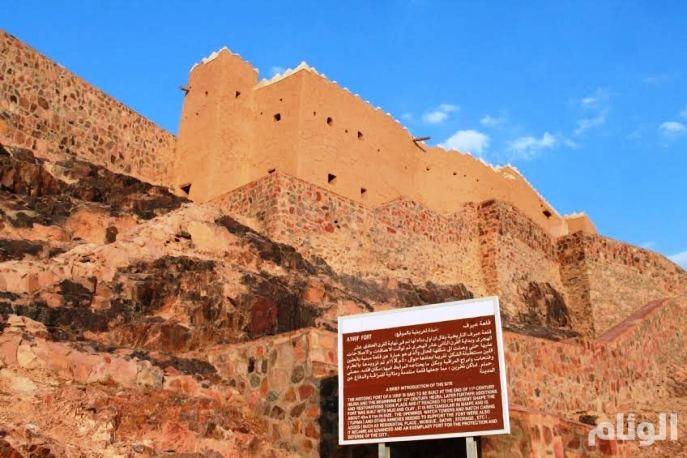 «عيرف» قلعة تاريخية تبرهن مهارة الحائليين «القدامى» في فن العمارة
