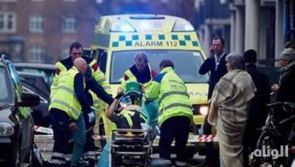 اصابة ثلاثة اشخاص في اطلاق نار على معبد يهودي بوسط الدنمارك