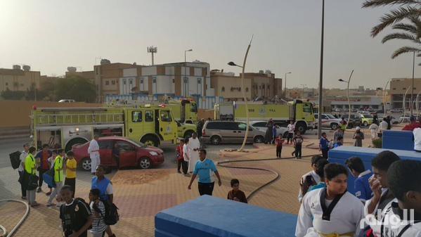 مدني الرياض: إخماد حريق في مقر نادي الهلال