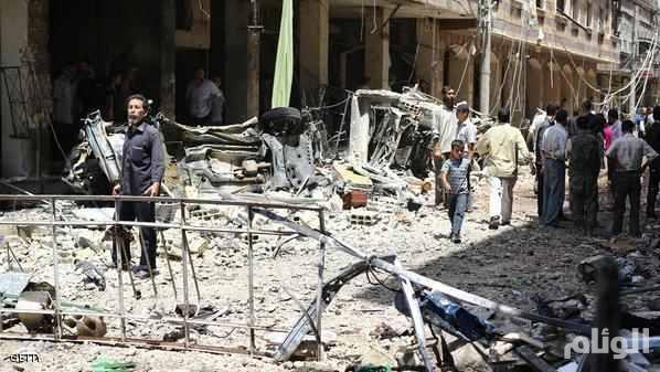 سوريا .. مقتل وإصابة 61 شخصًا في قصف للنظام على الغوطة