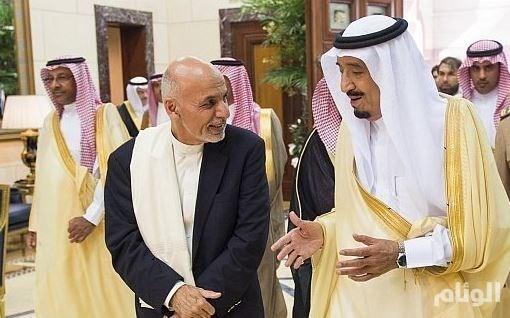 رئيس جمهورية أفغانستان الإسلامية يصل إلى الرياض