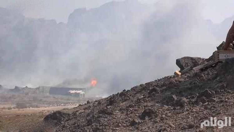 مقتل 20 حوثياً .. غارات جوية عنيفة لعاصفة الحزم واشتباكات برية في جنوب اليمن