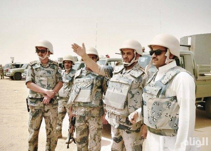بالصور : حرس الحدود يؤكد تمرسه على رد أي اعتداء مسلح