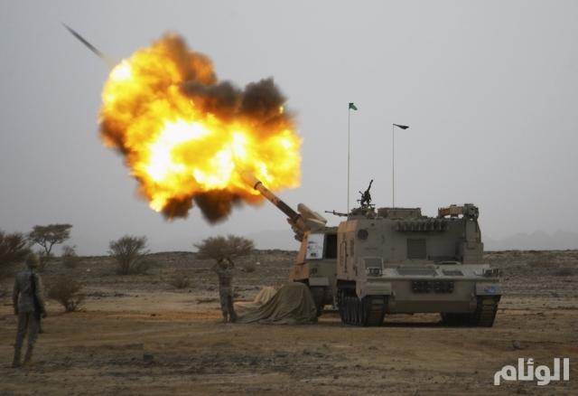 """""""عاصفة الحزم"""" تشن قصفًا عنيفًا على المناطق الحدودية اليمنية"""