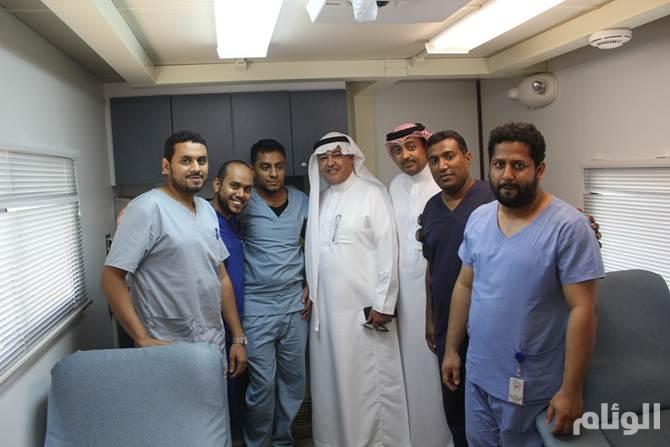منسوبو اتصالات جازان يتبرعون بدمائهم لمستشفيات المنطقة