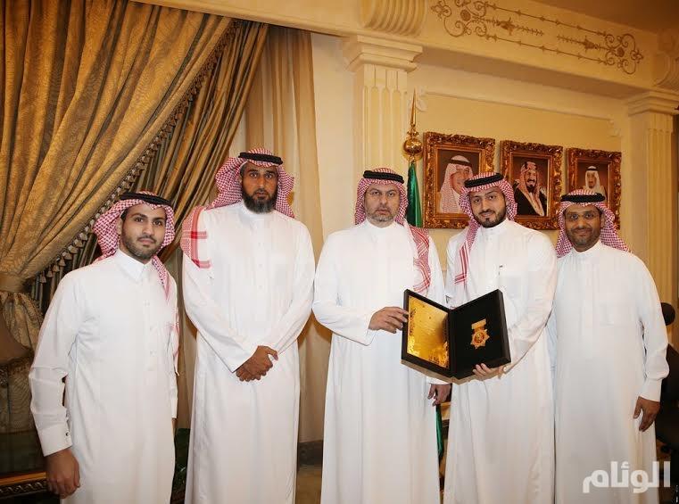الأمير عبدالله بن مساعد يستقبل رئيس شركة لجام للرياضة