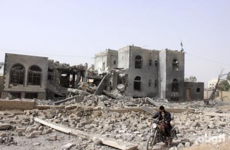 طائرات التحالف تقصف محافظتي صعدة وحجة في اليمن