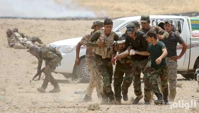 """مقتل 30 جندياً عراقياً في تفجيرات انتحارية نفذها عناصر """"داعش"""""""