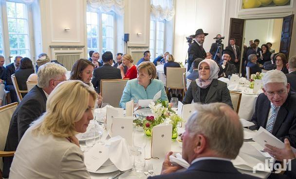 ميركل : الإسلام ينتمي بلا شك إلى ألمانيا
