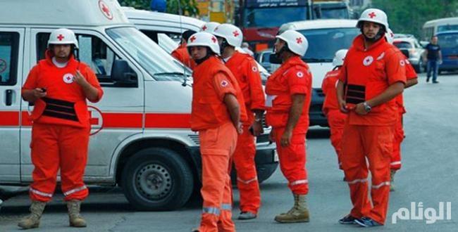 الصليب الأحمر: تسليم المساعدات الغذائية الحيوية عبر الخطوط الأمامية في عدن