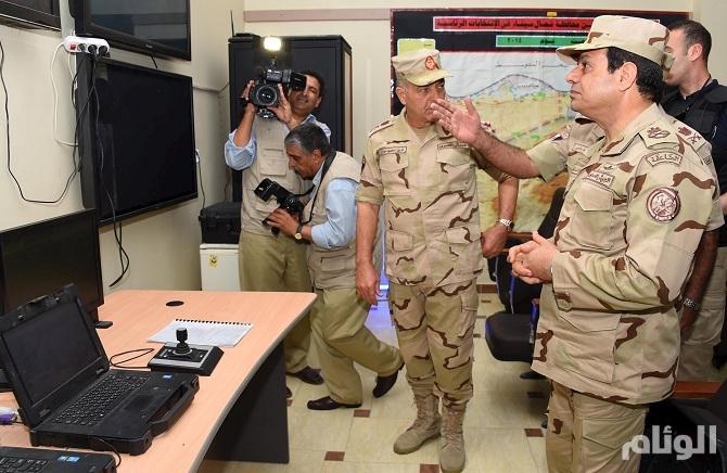 الجيش المصري: مقتل 241 إرهابيا في شمال سيناء منذ الهجمات الأخيرة