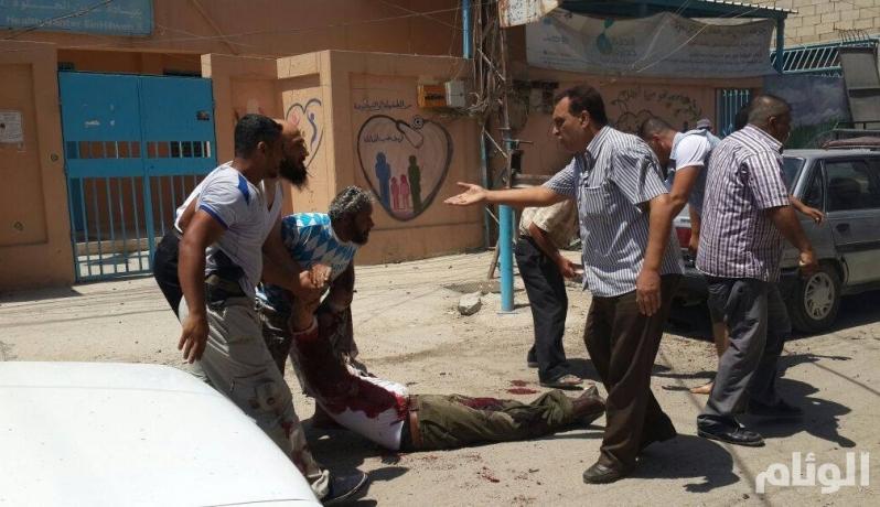 بالصور .. اغتيال مسؤول كبير بحركة فتح في لبنان