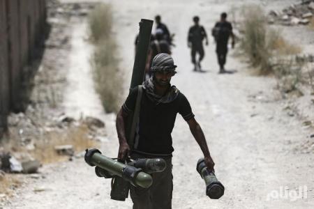أمريكا تدافع عن مقاتلي المعارضة السورية بالقوة الجوية