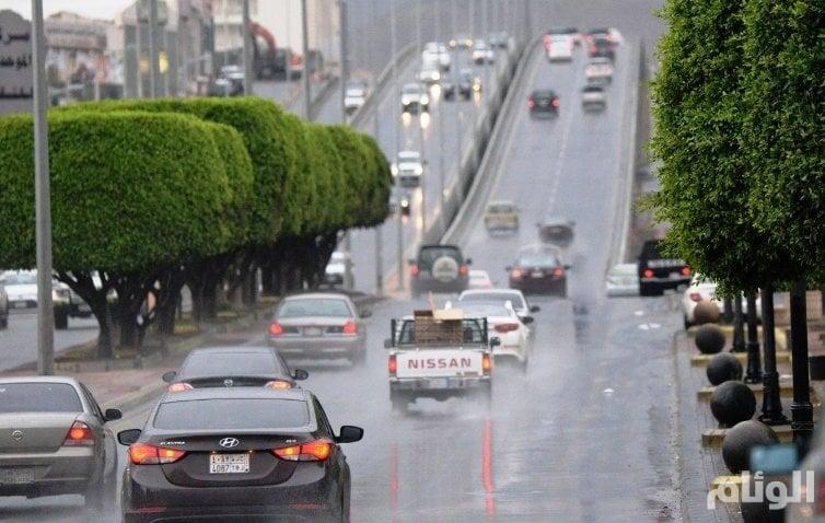 هطول أمطار رعدية في حائل والشرقية وعسير ونجران وجازان