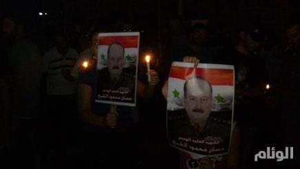 التلفزيون السوري: القبض على سليمان الأسد قاتل العميد في ريف اللاذقية