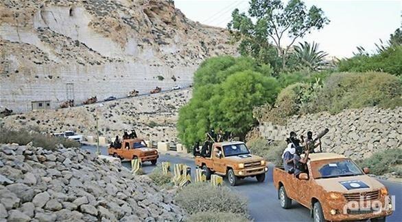 العثور على مقبرة جماعية للجماعات الإرهابية غرب شرق ليبيا