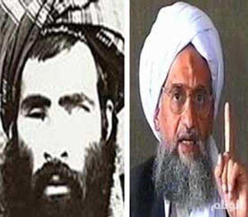 زعيم القاعدة يؤيد زعيم طالبان الجديد
