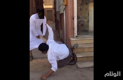 شرطة القصيم توقف المعتدي على عامل آسيوي في بريده