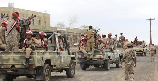 اليمن : القوات الشرعية تسيطر على مواقع غربي مأرب
