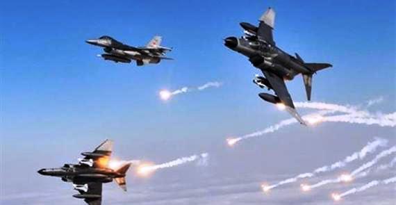 طيران التحالف يقصف المتمردين بمأرب وتعز والبيضاء