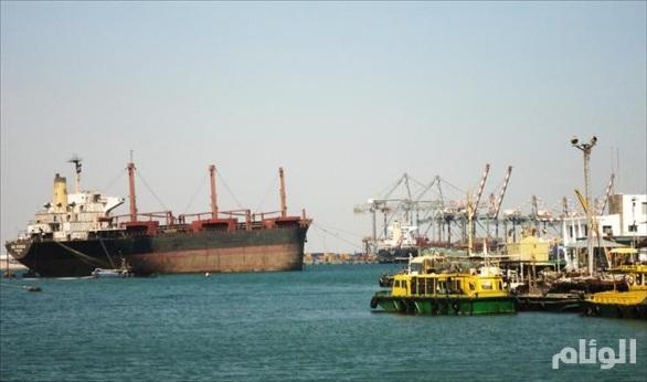 وصول سفينة ثانية سيرها مركز الملك سلمان للإغاثة بالشراكة مع هيئة الإغاثة إلى عدن