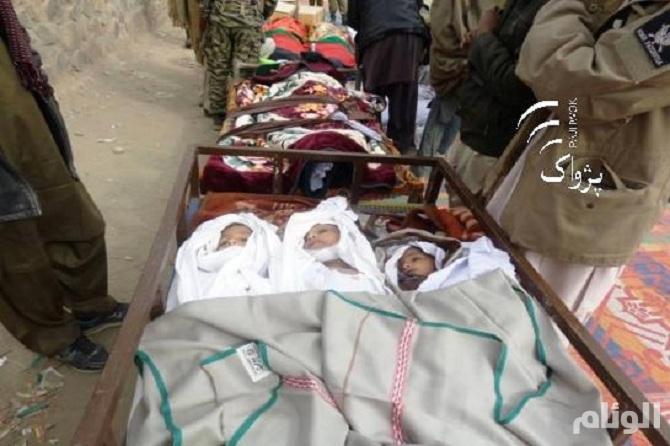 """مقتل 9 في تفجير مباراة """"طائرة"""" في أفغانستان"""