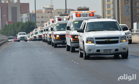 مستشفيات صحة جدة تستقبل 20 حالة من مصابي التدافع