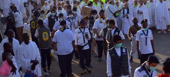 400 كشاف يساندون وزارة الصحة في المشاعر المقدسة