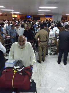مطار جدة يوضح حقيقة غياب الموظفين في صالة الحج