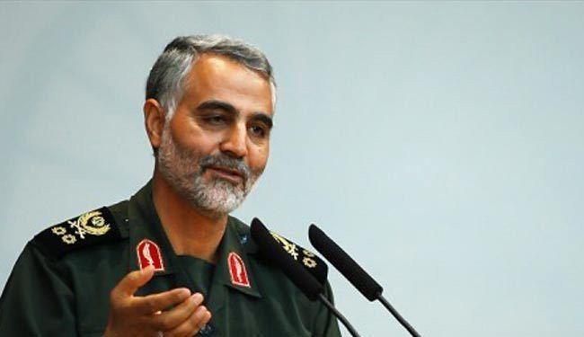 """سلیمانی: واشنطن فشلت فی القضاء على """"الثورة الایرانیة"""" و """"حزب الله"""""""