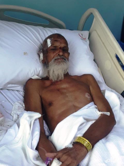 """الحاج """"بدر الدين"""" عاد حيًّا بعد حادثة التدافع"""