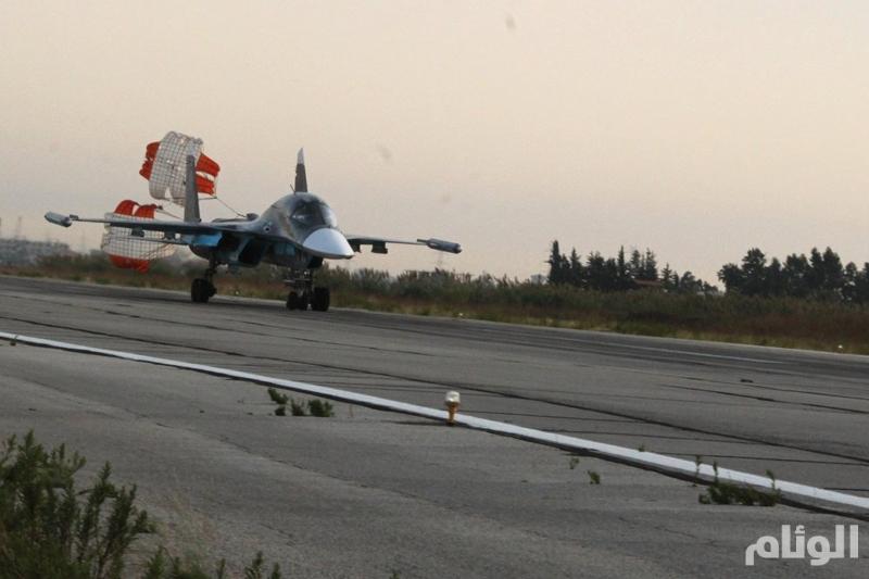 بالصور.. الطائرات الروسية في مطار اللاذقية