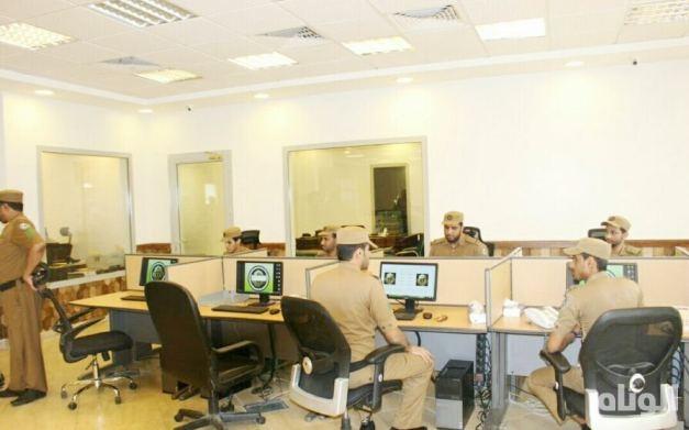 تدشين غرفة عمليات القوة الخاصة لأمن الطرق الحديثة بمكة