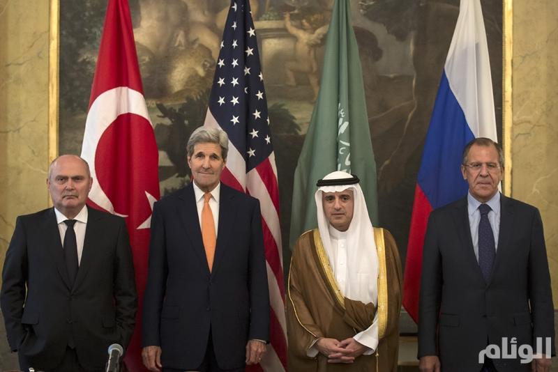محادثات بين روسيا وأمريكا وتركيا والسعودية بشأن سوريا