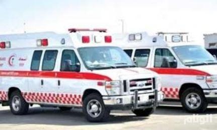 إصابة 4 أشخاص في حوادث متفرقة بتبوك